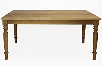 Esstisch Massiv Landhaus Olinda Quot 160 X 90 FSC N002524 Pinienholz Langer Naturholzmobel Tisch