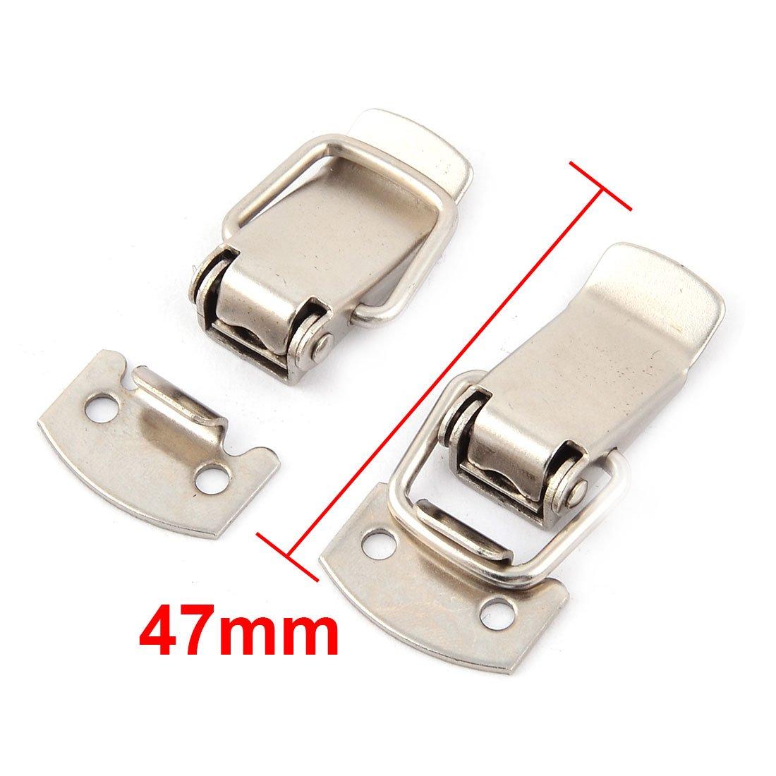 19 Sets Werkzeugkasten Metallschnalle Umschalten Verriegeln Sperren Haspe 47mm de