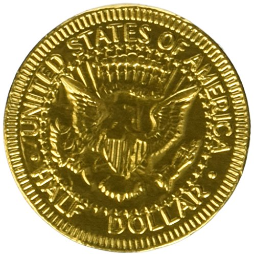 Fort Knox Milk Chocolate Gold Coins - 5 Lb Bulk (Bulk Candy Coins)