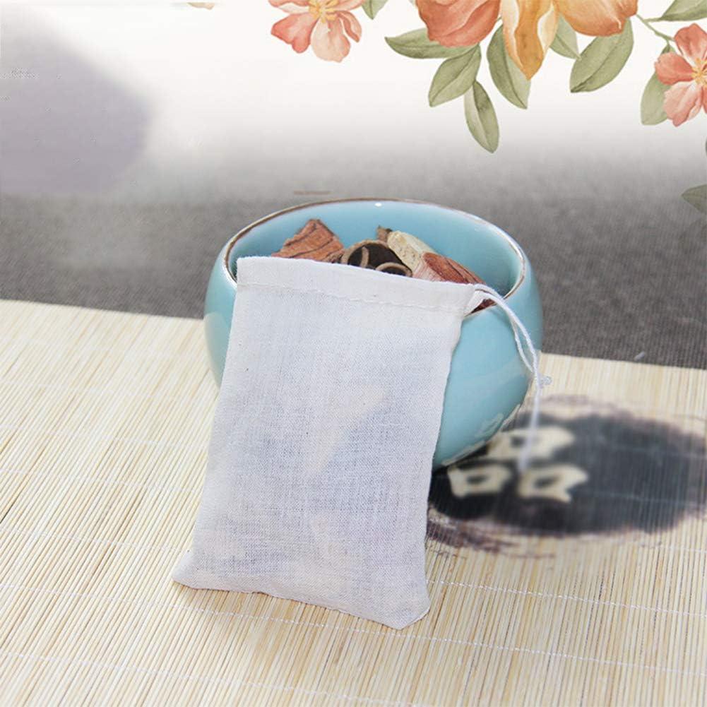 60 St/ücke Kleine Baumwolle Kordelzug Taschen Nat/ürliche Musselin Tasche 6 Pack f/ür Weihnachten Jewel Geschenke Festival Spielzeug Lagerung Dekorieren Tasche 10x15 cm Pveath Baumwolltasche