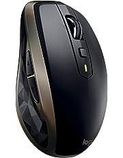 Souris Bluetooth MX Anywhere 2 AMZ sans fil Logitech pour Windows et Mac - Noir