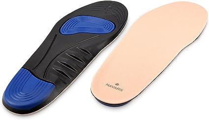Navaris Plantillas para zapatos - suelas de para pies delicados ...