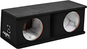 "Skar Audio SK2X10V Dual 10"" Universal Fit Ported Subwoofer Enclosure"