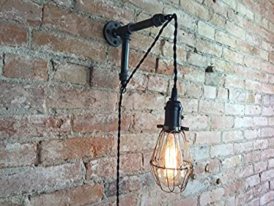 Industrial Style Sconce - Edison Bulb Lamp - Pendant Lights