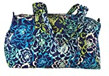 Vera Bradley Small Duffel with Solid Color Interior (One size, Katalina Blues)