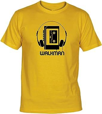 Camisetas EGB Camiseta Walkman Adulto/niño ochenteras 80´s Retro: Amazon.es: Ropa y accesorios