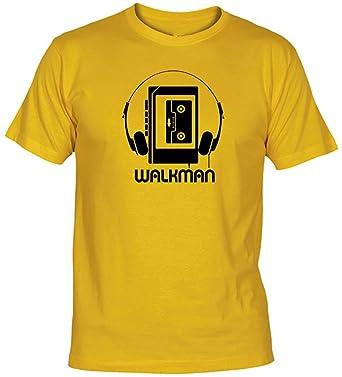 Camisetas EGB Camiseta Walkman Adulto/niño ochenteras 80Žs Retro: Amazon.es: Ropa y accesorios