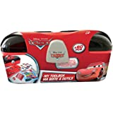 Disney CDIC013 Cars Toolbox with 60-Piece Creative Stationery Set
