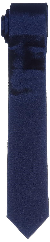 Calvin Klein Slim 6.4 cm Corbata, Azul (Navy), Talla única para ...