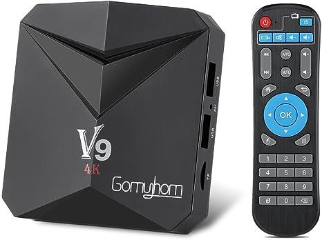 LESHP TV Box Android 7.1**3GB+32GB**Smart Box Octa Core Amlogic S912(H.265/3D/4K HD) Wi-Fi 2.4G/5G Doble Banda Bluetooth 4.0, 2*USB/HDMI/AV/Carta TF: Amazon.es: Electrónica