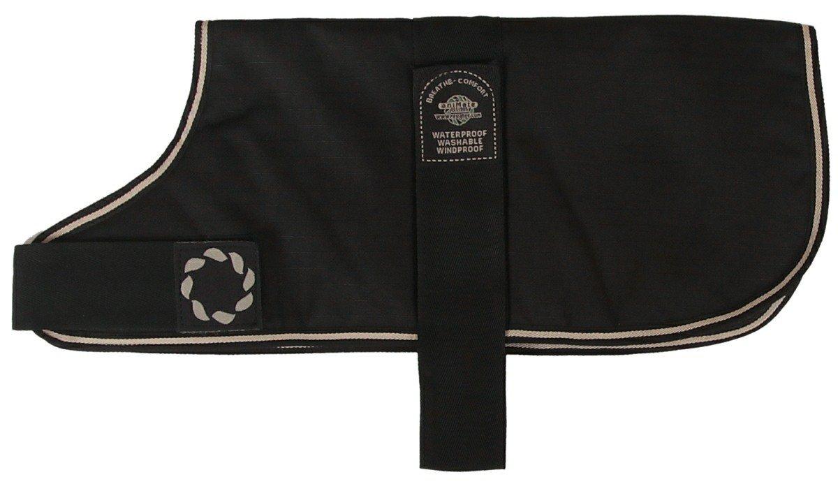 Outhwaite Unlined Dog Black Coat 26-inch