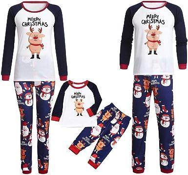 Conjunto De Pijamas Familiares De Navidad Pijamas Ropa De ...