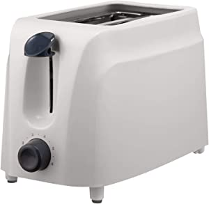 BRENTWOOD TS-260W Cool-Touch 2-Slice Toaster Home, garden & living