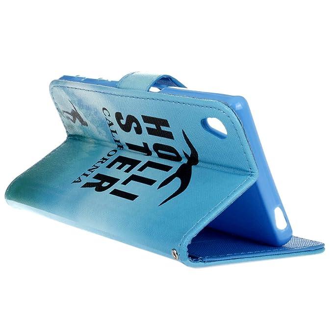 Z5 caso, Sony Xperia, Lifetrut Z5) [función atril] [ranura ...