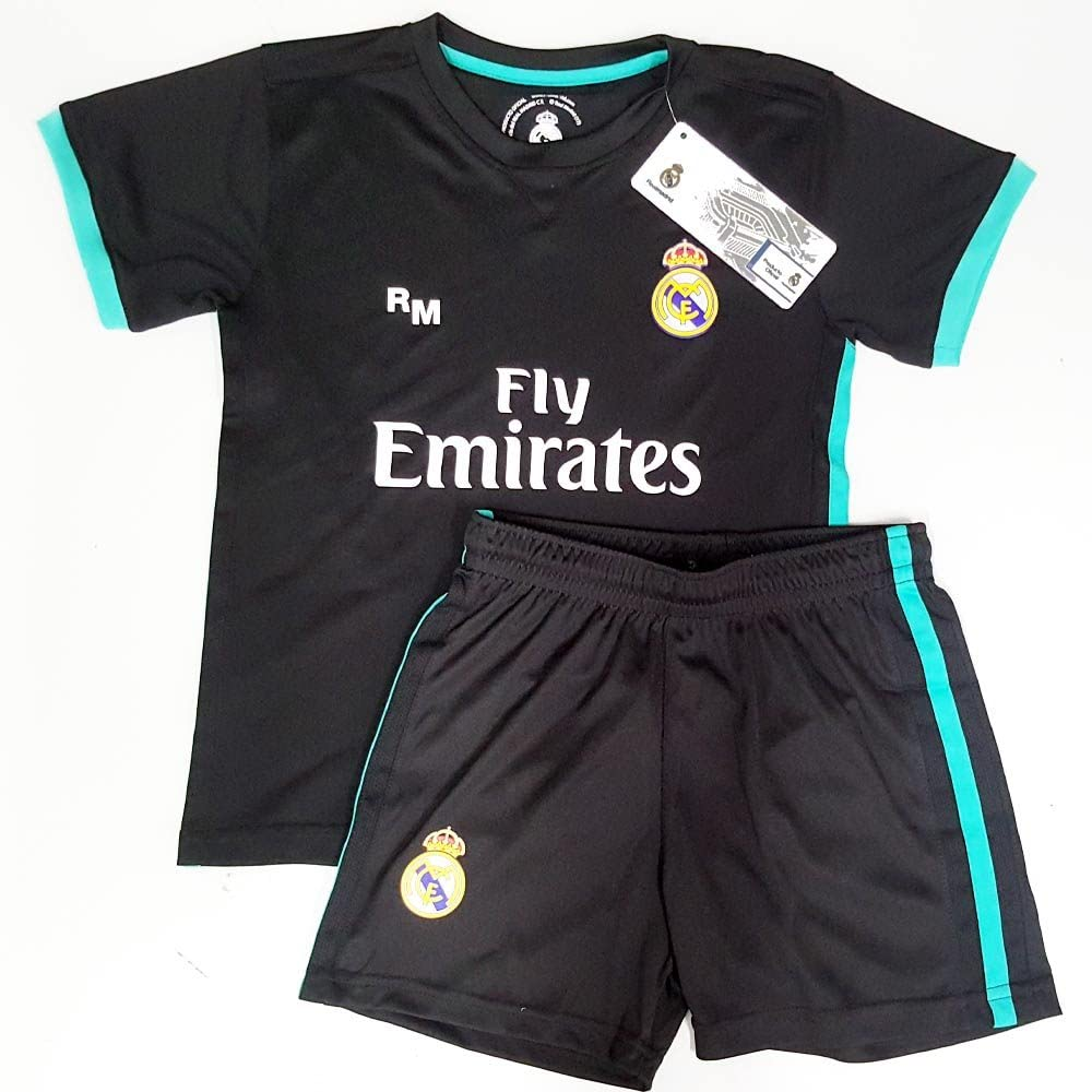 Rogers Uniforme Real Madrid Réplica Oficial Junior Segunda ...