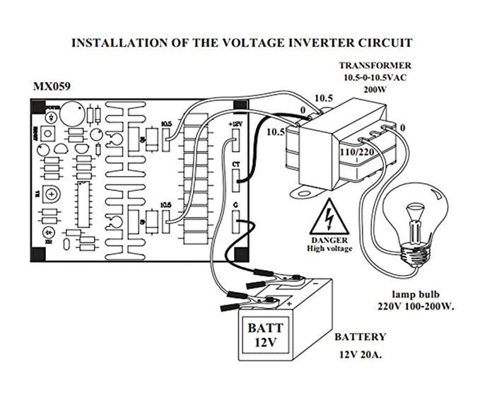 12v to 220v inverter circuit diagramamppcb layout