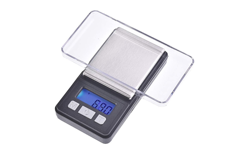 Quantum Abacus Precise: Balance digital de précision/pèse-lettre/microbalance / trébuchet/balance de poche, résolution précise de 200gr / 0,01gr, Mod. MT_mini-200g0.01