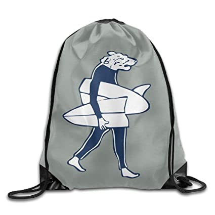 a30b381f850d Amazon.com | Drawstring Bags Gym Bag Travel Backpack, Funny Animal ...