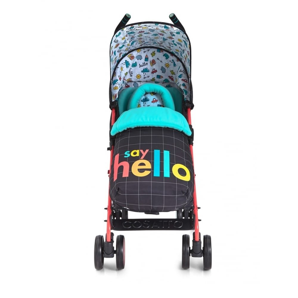 Say Hello Suitable from Birth to 25 kg Cosatto Supa 2018 Baby Stroller
