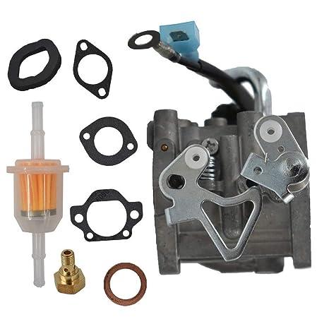 Uokoki Sustitución del carburador Onan Cummins A042P619 146 a 0785 y de Juntas Accesorios Generador