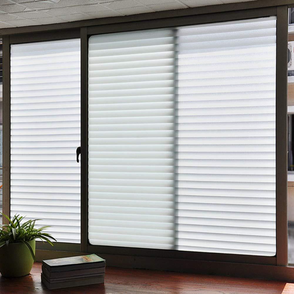 16x79inch QTQHOME Verre Portes et fen/êtres Vitrophanie,/Électricit/é Statique Non visqueux Priv/ée D/écoration Pellicules pour fen/êtres Givr/é Window Couverture-A 40x200cm