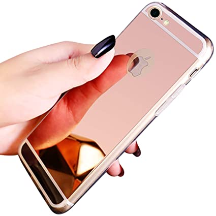 coque iphone 8 miroir or