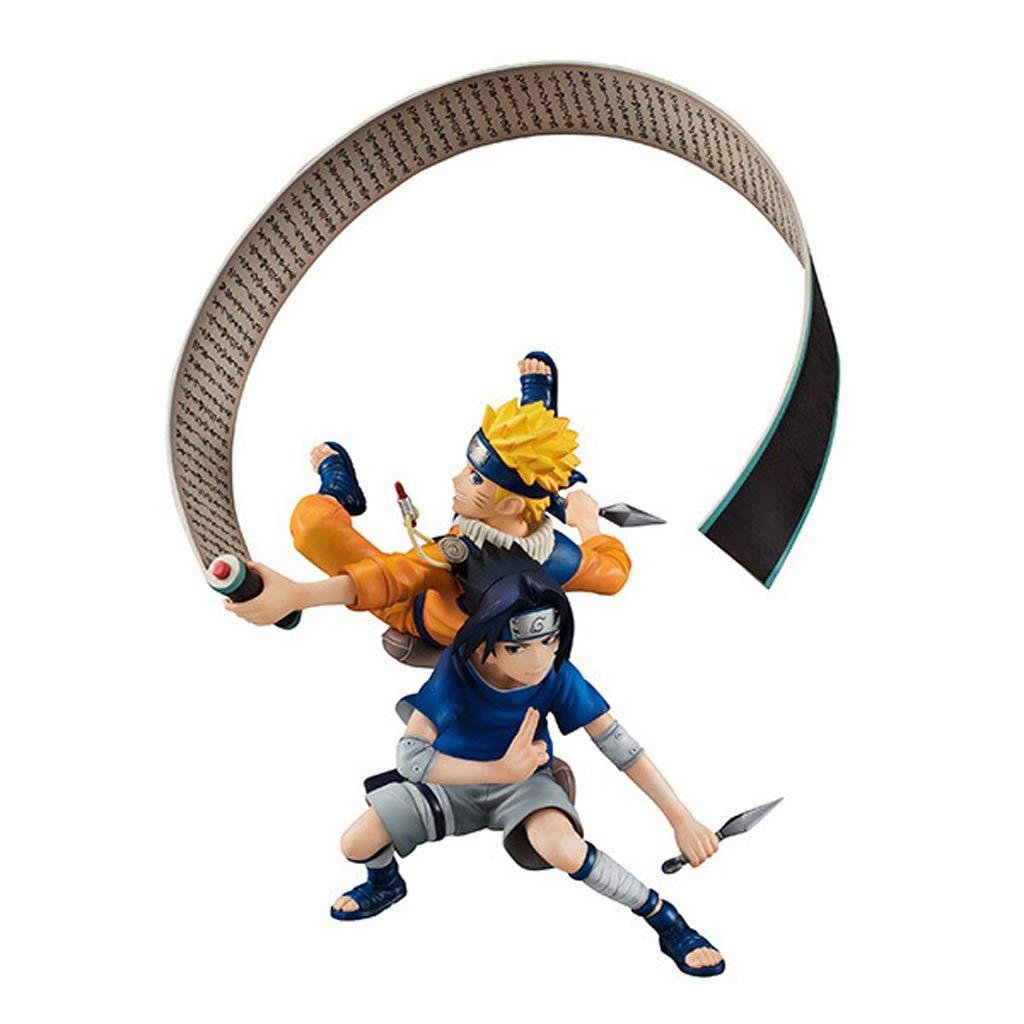 HYYSH Naruto GEM Whirlpool Naruto Uchiha Sasuke Modelo Menor ...