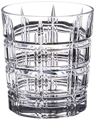 Marquis by Waterford Crosby Double Old Fashioned, Set of 4, Clear, 10 (Waterford Crystal Old Fashioned Glass)
