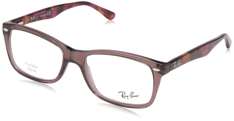 TALLA 53. Ray-Ban RX5228 Gafas en ópalo gris la Habana RX5228 5629 50