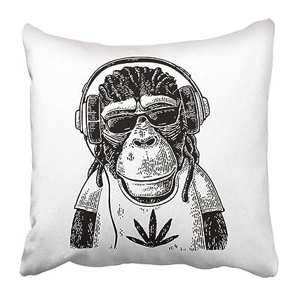 BorisMotley Mono en audífonos Gafas de Sol y Vestido con ...
