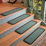 """Rubber-Back PolyPro Stair Tread-30""""W - Brown"""