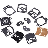24Pcs Carburador Carb Repair Rebuild Kit de Diafragma