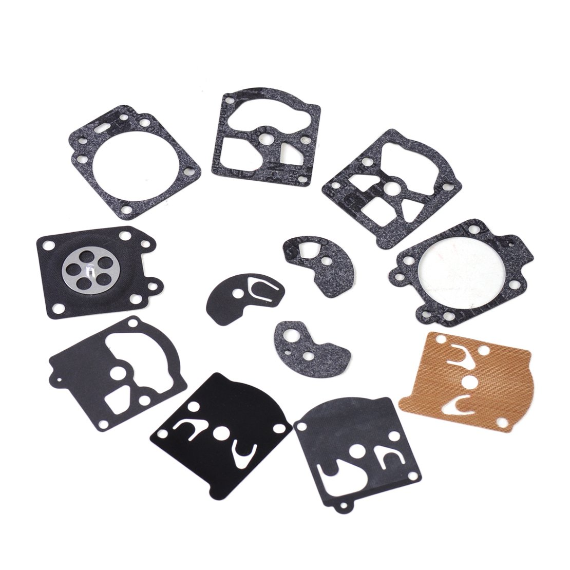 24Pcs Carburador Carb Repair Rebuild Kit de Diafragma de Junta Para Walbro K10-WAT WA WT eastar