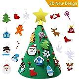 Bageek Árbol de Navidad DIY, niño Árbol de Navidad Redondo árbol de ...