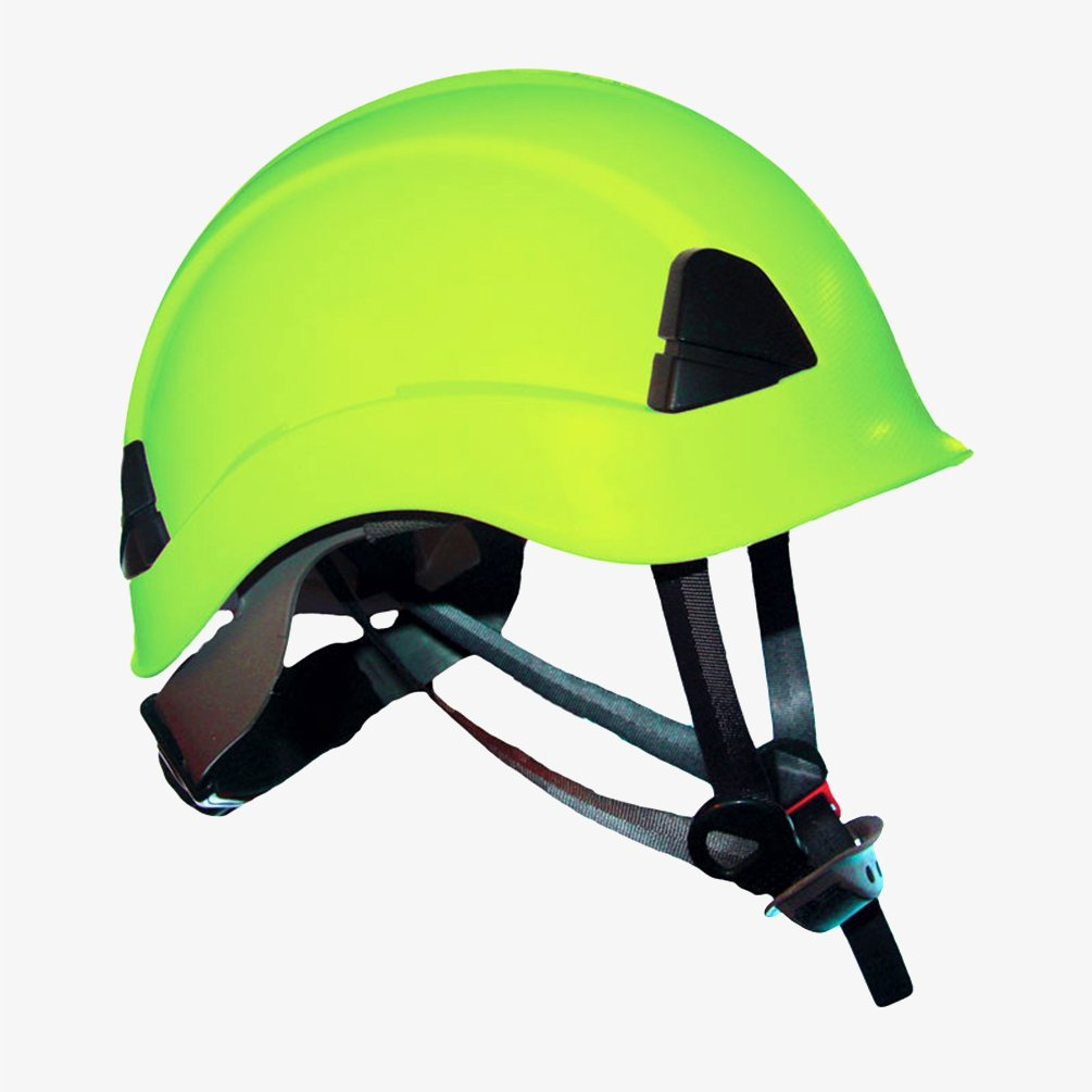 ProClimb Gem Work and Rescue ANSI HIVIS Helmet Z89.1-2014 Type I Class E Certified with drawstring storage bag