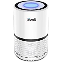 Levoit Air Purifier with H13 True HEPA Filter Active Carbon Filtration, Captures Allergies, Smoke, Pet, Bacteria, Dust…