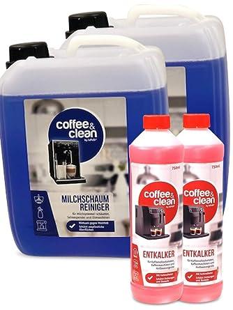Limpiador de espuma de leche de 10 L + descalcificador líquido de ...