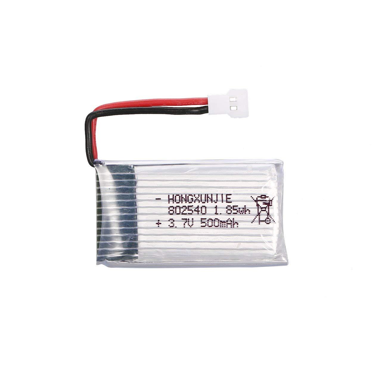 Ironheel 4pcs 3.7V 500mAh Batería + 4 en 1 Cargador USB para Syma ...