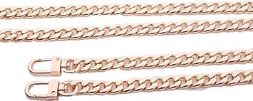 9mm DIY Purse Shoulder Crossbody Metal Chain Strap Replacement for Bags Handbags 70cm//27.6, Silver