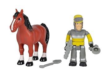 Simba 109259746 Feuerwehrmann Sam Tierrettung Figuren Set 7 5 Cm