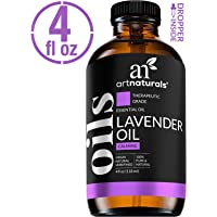 ArtNaturals 100% Pure Lavender Essential Oil - (4 Fl Oz / 120ml) - Premium Undiluted Therapeutic Grade Natural From Bulgaria - Sleep, Relaxation