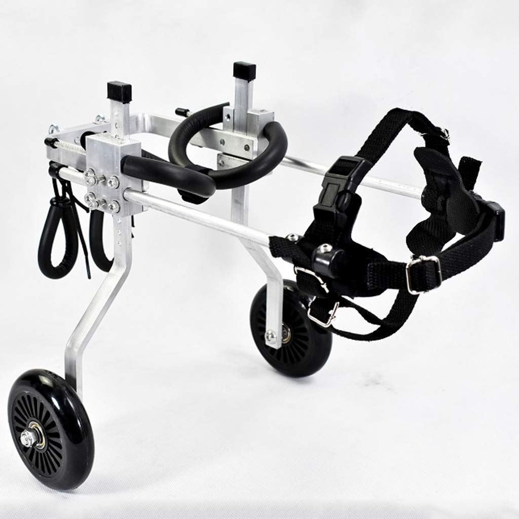 JINLINE Dog Wheelchair Exercise Bike Dog Scooter Disabled Dog Assisted Hind Leg Movement Pet car seat
