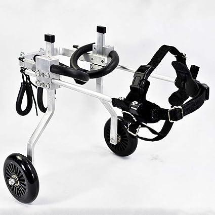 Laoyi Perro en Silla de Ruedas Ejercicio Bicicleta Perro Scooter discapacitado Perro asistido Pierna Trasera Ejercicio