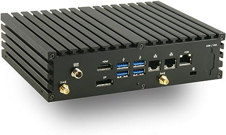 Jetway JBC377F531W-3160-B Intel Celeron N3160 PC//w Dual Intel GbE /& 4GB DDR3L