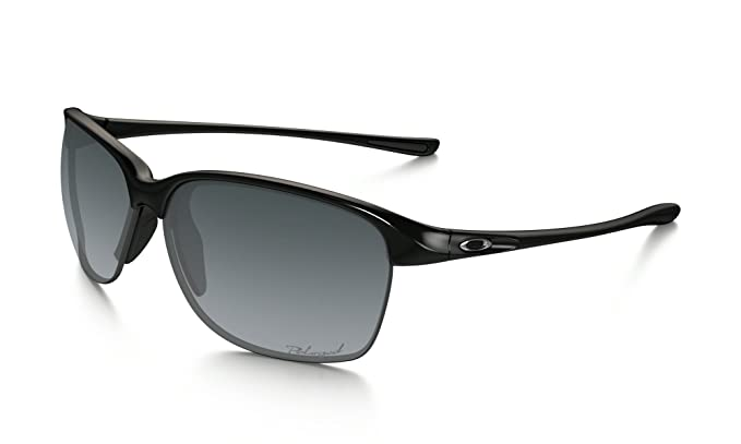 7563eb5bea Oakley Women s Womens Unstoppable Sunglasses OO9191 Plastic Black   Amazon.in  Sports