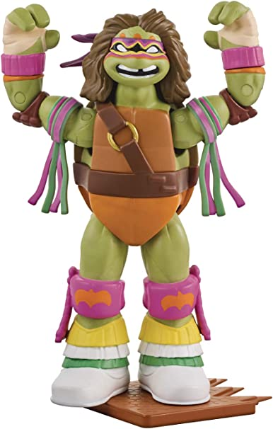 Teenage Mutant Ninja Turtles Ninja Super Stars: Donatello as Ultimate Warrior Figure