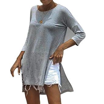Camisetas Gatos Mujer Ronamick Encaje Sexy Blusa Nochevieja Mujer ...