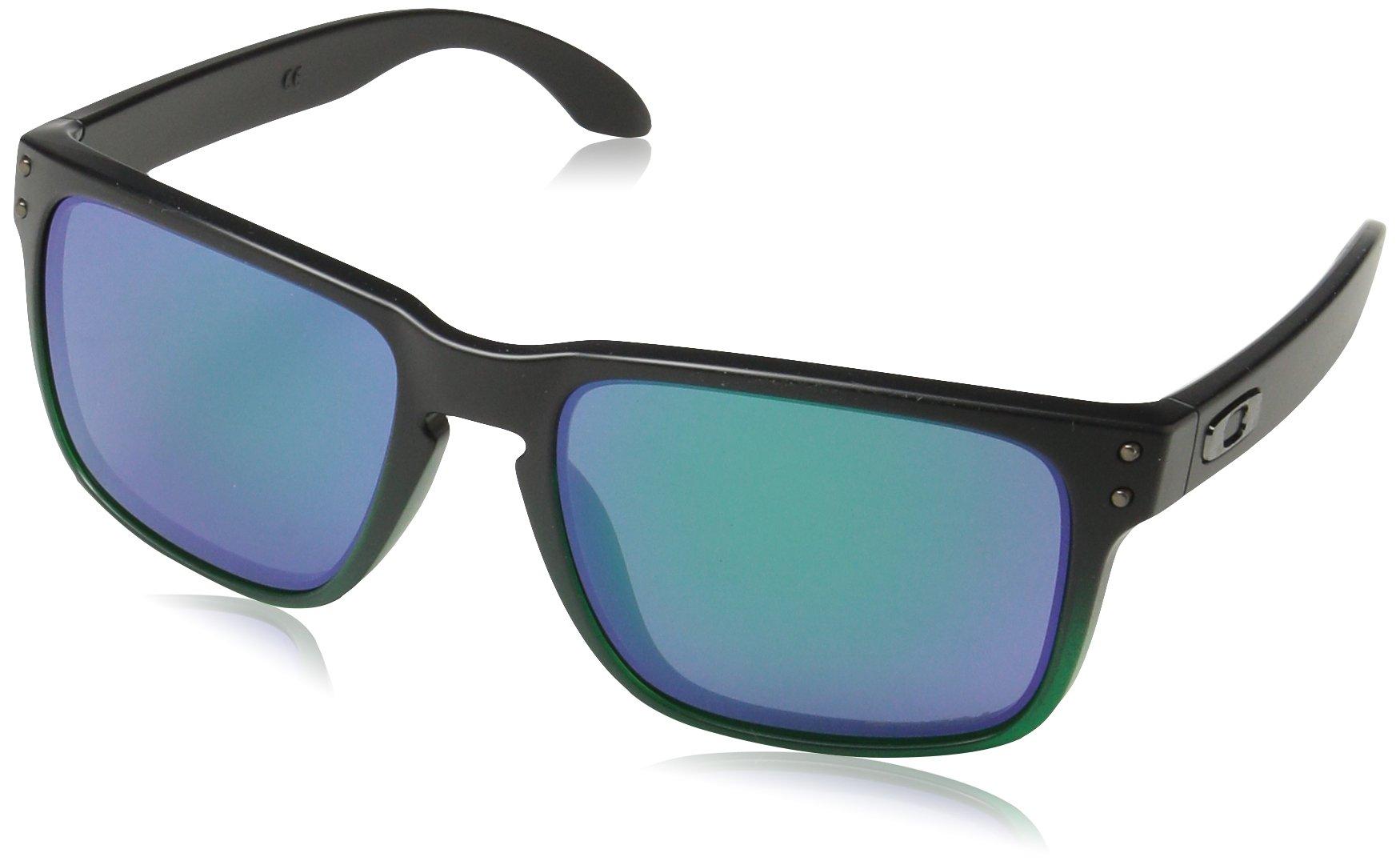 Oakley Men's Holbrook Non-Polarized Iridium Square Sunglasses, JADE FADE, 57.0 mm