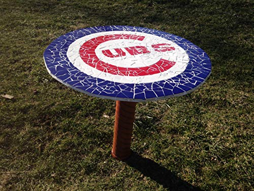 Chicago Cubs Tile Table