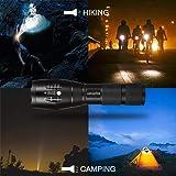Ustopfire LED Tactical Flashlight 1200 High Lumens